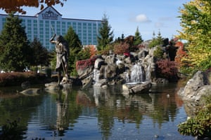 A casino resort on the Tulalip Indian Reservation north of Seattle, Washington.